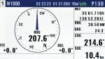 Heading graph display1
