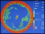 Sonar mode<br>at 180 kHz